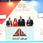Employees of SAAF Technologies at the SAAF Stand in the BIG5 Show